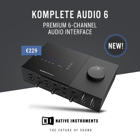 Komplete Audio 6 Mk2